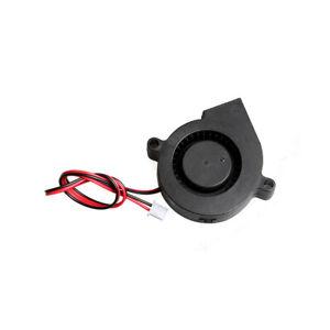 Radial Lüfter 5015 24V RepRap 3D-Drucker Extruder Bauteilkühler