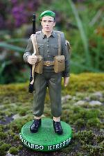 RE0226 B  4 FIGURINE SOLDAT  POILU 1918 FANTASSIN14 18  GUERRE MONDIALE 4 SUR 4