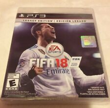 FIFA 18  Legacy Edition  PS3 New & Sealed