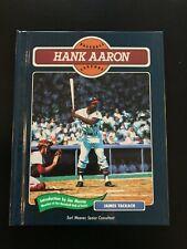 Hank Aaron Baseball Legends Hardcover Book Atlanta Braves
