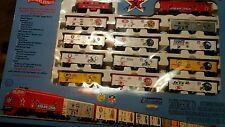 Mantua HO Scale Train NFL Football Super Bowl Express Set LE 4000 NISB