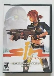 SiN Episodes - Emergence' Episode 1 (PC, DVD-ROM Game Software; 2006) Rated M