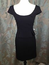 Asos Little Black Dress Size 8 New womens fitted evening party office *