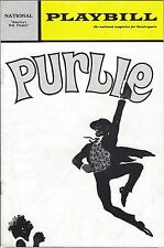 MARCH 1972 PLAYBILL PROGRAM FROM NATIONAL THEATER - PURLIE - ROBERT GUILLAUME