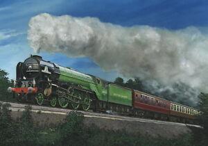60163, The Tornado, Train Print