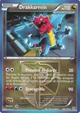 70//101 Drakkarmin N/&B:Explosion Plasma Carte Pokemon Neuve Française
