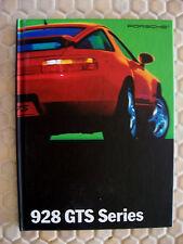 PORSCHE OFFICIAL 928 GTS HARDBACK PRESTIGE SALES BROCHURE 1995 USA EDITION