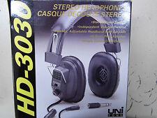 casque audio mono stéréo jack 3.5mm + adaptateur jack 6.3mm HD-3030