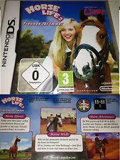 HORSE LIFE 2 Freunde für immer Nintendo DS Abenteuerspiel Pferde Spiel Wettkampf