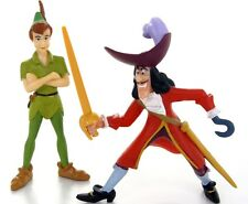 OFFICIAL DISNEY BULLYLAND CHARACTERS PETER PAN & CAPTAIN HOOK SET DISNEY FIGURE