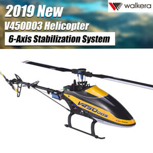 Walkera V450D03 6CH 3D Fly 6Axis Stabilization System Single Blade RC Helicopter