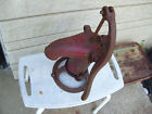 Vintage Cast Iron Farm Hand Well  Water Pump ~ Red Yard Decoration NICE
