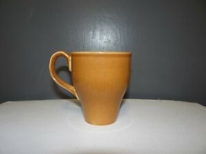 Russel Wright Iroquois Casual China Redesigned Coffee Mug Ripe Apricot