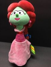 VeggieTales Sweet Pea Beauty Stuffed Plush Toy 10.5""