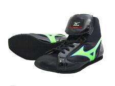 Mizuno Boxing Shoes Short Black x Flash green Free shipping Made in Japan Bto