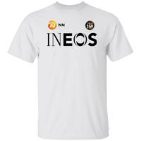 Men's Team INEOS Logo Short Sleeve WhiteT-Shirt S-5XL