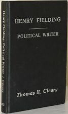 Thomas R. Cleary, author / HENRY FIELDING POLITICAL WRITER 1984 #257687