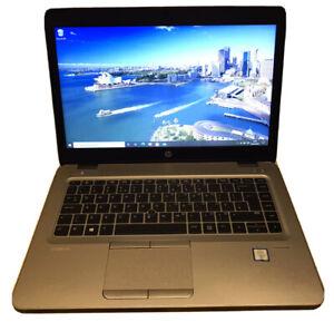 HP Elitebook 840 G3 Laptop Core i5 vPro 6th Gen, 8GB RAM, 256GB SSD + 500GB HDD