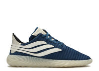 Mens Adidas Sobakov Trainers Gym Running Lightweight Navy Clear BD7562