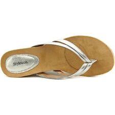 Sandalias con plataforma de mujer de lona