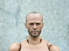 1/6 Model Toys Actor Fas Furious Mechanic Male Stars Jason Michael Statham Head