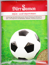 Rasensamen Rasensaat Sport und Spiel Sportrasen Spielrasen für ca. 7m² Dürr