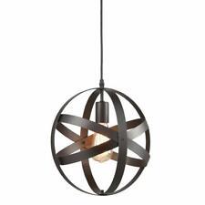 Truelite Industrial Metal Spherical Pendant Displays Changeable Hanging Lighting