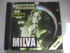 CD  MILVA   Ciao Bella   Music Reflexion  Topzustand