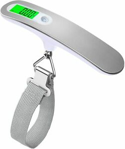 110 lb/ 50kg Portable Digital Luggage Scale Travel Scale Hanging Suitcase Scales