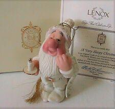 Lenox Disney Snow White A Very Sleepy Christmas Ornament New in box