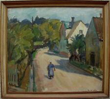 Knud Ove Hilkier 1884-1953, Bauersfrau in Allinge auf Bornholm, um 1940