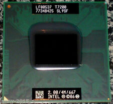 Intel Core 2 Duo Mobile T7200 SL9SF 2.0GHz 4M 667MHz Socket M Dual-Core Process