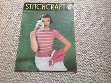 STITCHCRAFT Ladies Vintage Knitting Magazine June 1952