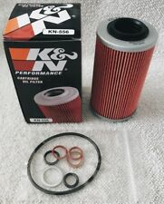 K&N Oil Filter w/Seal Kit 2014-2021 Can-Am Spyder SM6-SE6 1330 RT/F3 Models