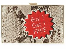 Anya Hindmarch Imperial buy 1 get 1 free python clutch