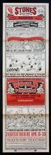 LADIES AND GENTLEMEN THE ROLLING STONES 1974 NEW YORK PREMIER POSTER