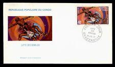 Dr Who 1977 Congo Fdc Bondjos Fighting Cachet d58704