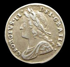 More details for george ii 1737 silver maundy penny - vf