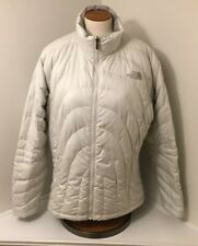 The North Face, Light Grey 550 Down Puffer Coat, Womens XL, Good Condition