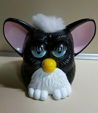 1998 FURBY McDonald's Happy Meal Toy Black and White Collectible
