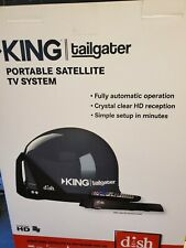 King VQ4510 Tailgater Bundle - Portable Satellite TV Antenna and Dish HD