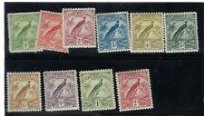 New Guinea Scott # 18-27 VF OG HL  Nice Set British Empire