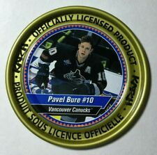1997-98 Katch Irwin Medallion Gold Coin #145 PAVEL BURE #10 Vancouver Canucks