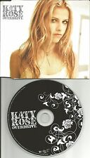 KATY ROSE Overdrive ULTRA LIMITED PROMO radio DJ CD single MINT 2003 USA