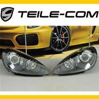 NEU+ORIG. Porsche 958.1 Cayenne Xenon Scheinwerfer+dynam.Regul. SATZ in Schwarz