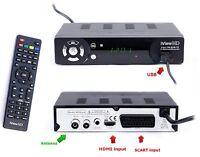 FULL HD 1080P Freeview HD Receiver & Recorder DIGITAL TV Set Top Box Terrestrial