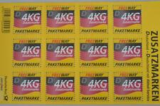 DHL Paketmarken Freeway Zusatzmarken 12x 4 kg