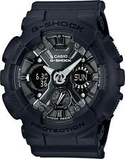 Brand New Casio G-Shock GMAS120MF-1A S-Series Black Ana-Digi Woman Watch NWT!!!!