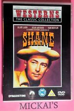 SHANE - WESTERNS THE CLASSIC COLLECTION WTCCN06 ALAN LADD DVD PAL OOP DeAgostini