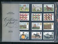 GREAT BRITAIN  1979  COLLECTORS YEAR COMMEMORATIVE PACKS ALL  STAMPS MINT NH